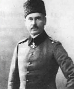 Photo: The Chief of the Army Refrom Board, German General Liman Von Sanders with Ottoman Uniform