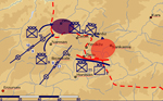 Sketch: Maneuver plans of the 3rd Army