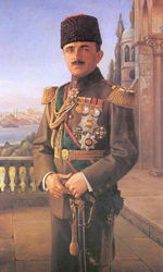 Photo: Comander-in-Chief representative Enver Pasha had taken command of the third army